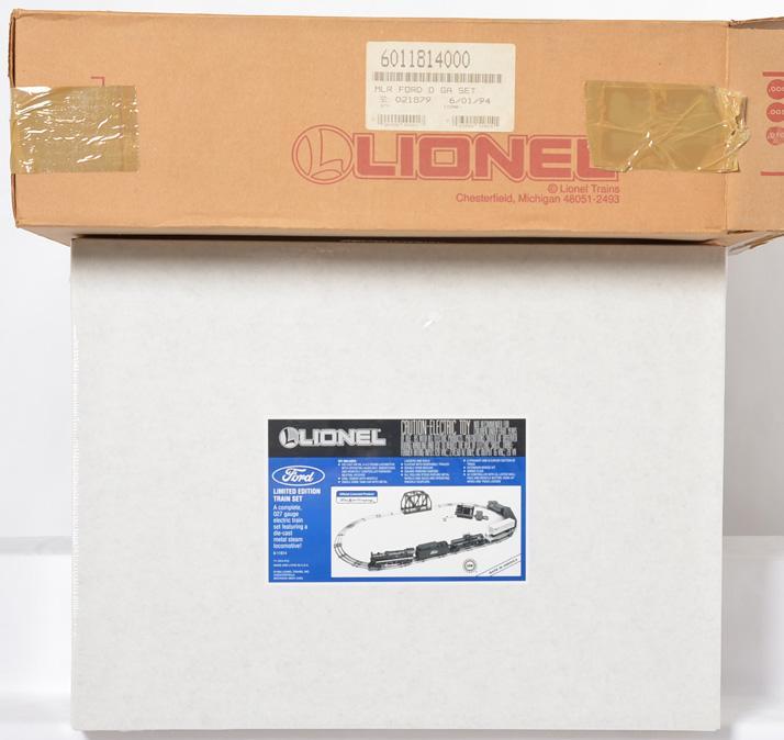 Lionel 11814 Ford set