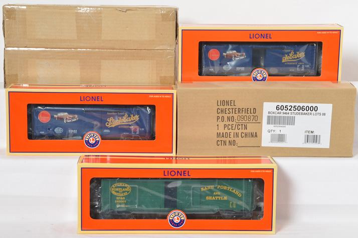 5 Lionel LOTS Freight Cars, 52425, 52506,
