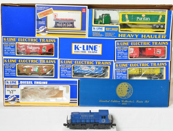 K Line 1990 Proctor and Gamble train set