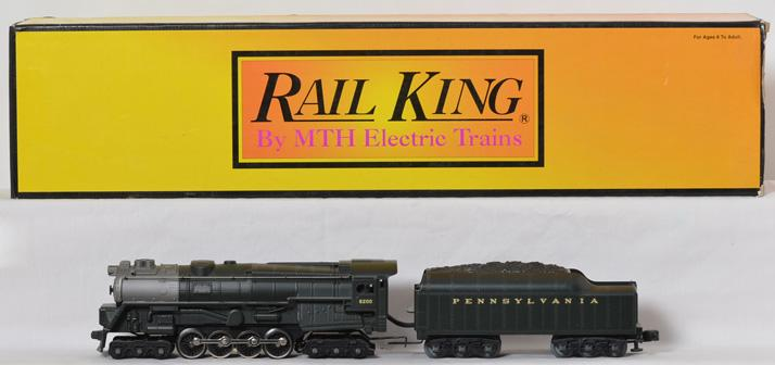 MTH Railking 30-1167 Pennsylvania 6-8-6 Turbine Steam Locomotive, with Loco-Sound