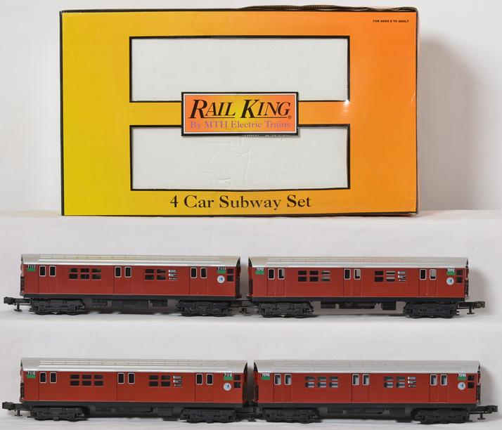 Railking Metro R21 4 Car Subway Set, 2198