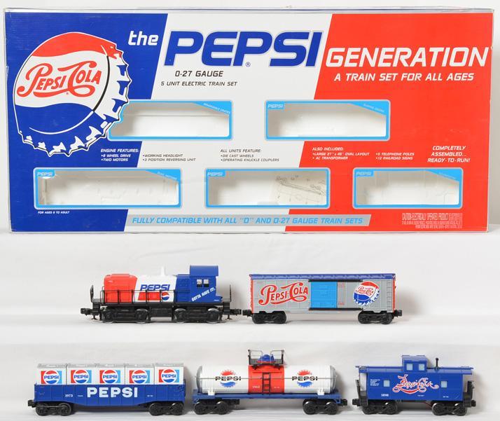 K Line Pepsi set