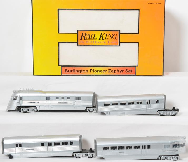 Railking Burlington Pioneer Zephyr, 30-2186