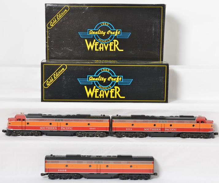 Weaver Southern Pacific EMD E 8 ABA Diesel Set