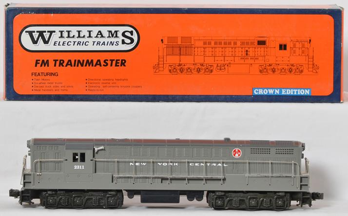 Williams 4103 NYC FM Trainmaster