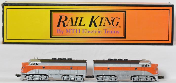 Railking Western Pacific F3 AA Diesels, RK-2008L