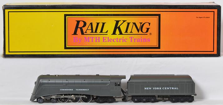 Railking NYC 30-1133 Commodore Vanderbilt with whistle