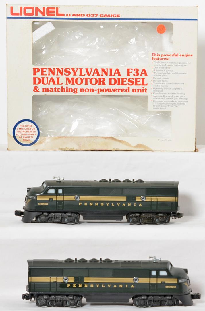 Lionel 8952 Pennsylvania F3 A-A