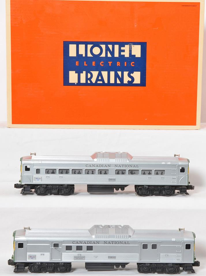 Lionel 18506 Canadian National BUDD Cars