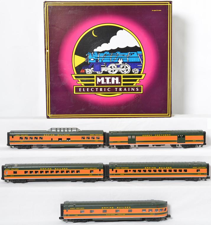 MTH Great Northern Passenger Car Set, 20-6551