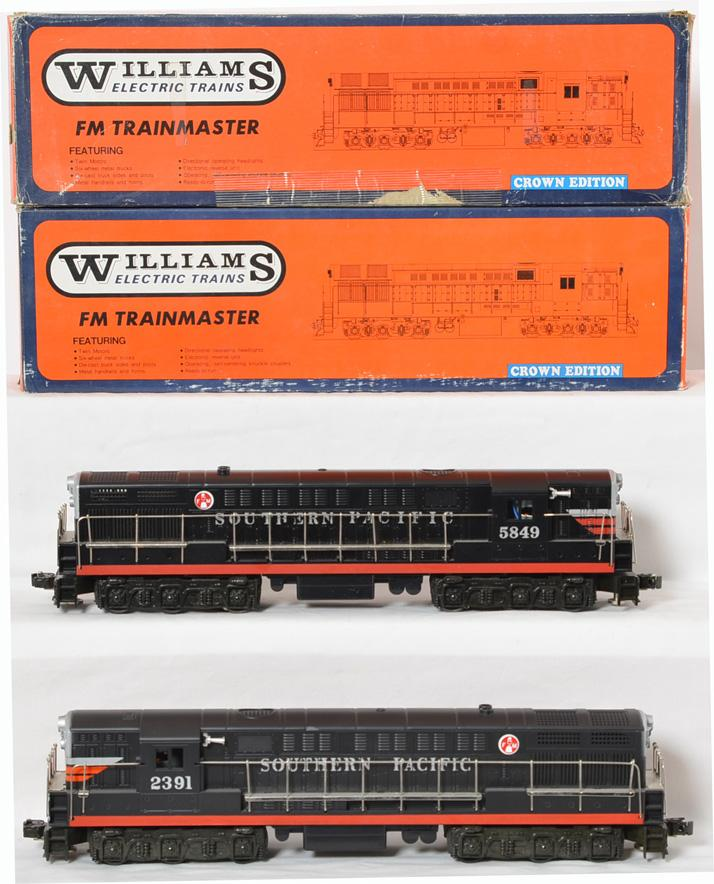 2 Williams 4107 Southern Pacific FM Trainmasters