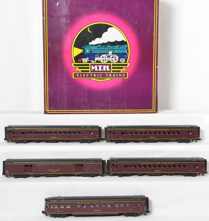 MTH 20-6514 N&W streamlined passenger set