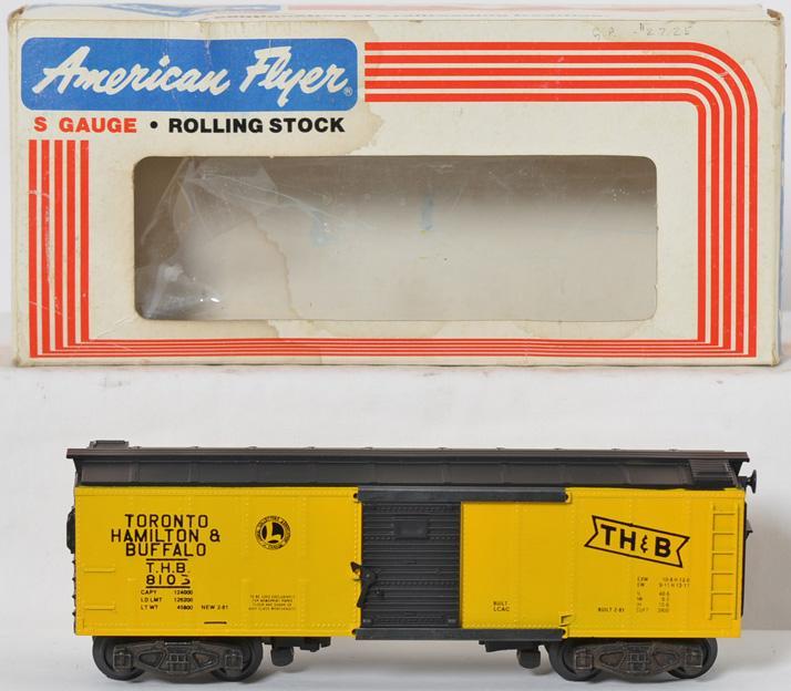 American Flyer TH&B Boxcar, 8103