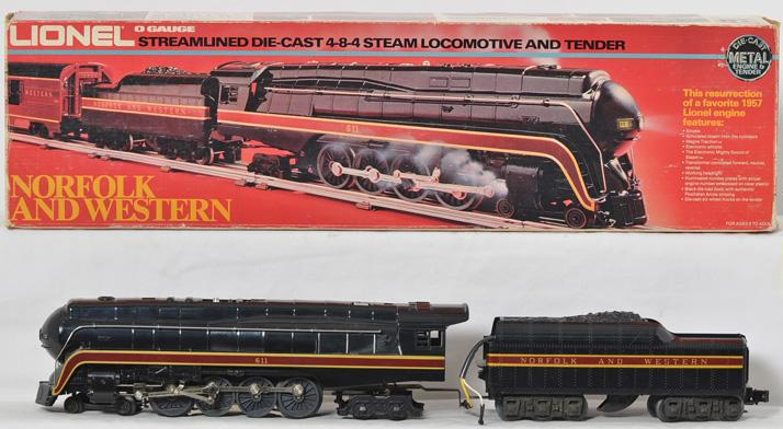 Lionel 8100 Norfolk and Western J Class
