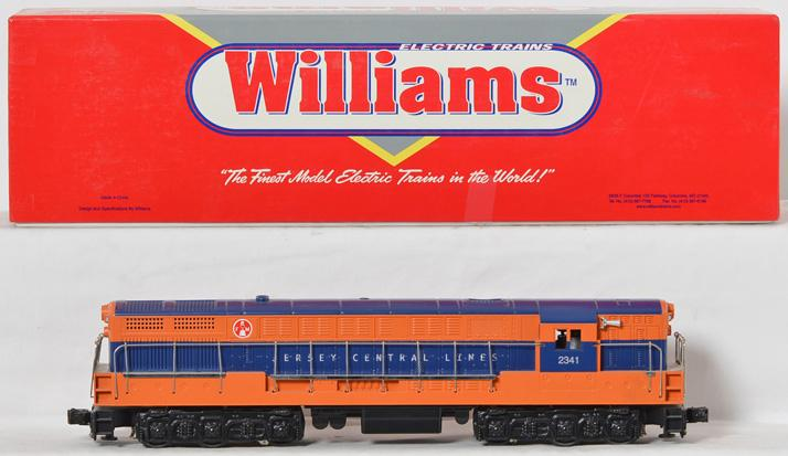 Williams FM102 Jersey Central Trainmaster