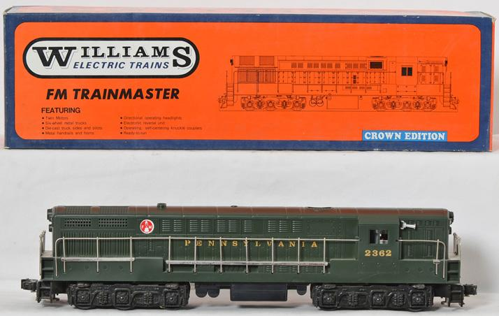 Williams 4100 Green Pennsylvania Trainmaster