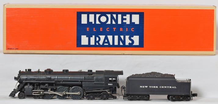 Lionel 8406 NYC Hudson Steam Loco & Tender