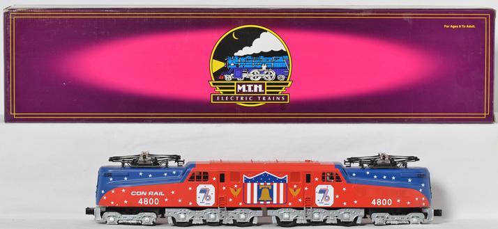 MTH Conrail Bicentennial GG-1 with Proto 2