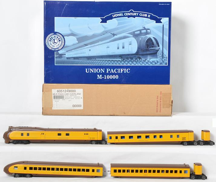 Lionel CCII Union Pacific M-10000 and add on, 51007, 51249