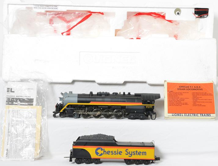 Lionel 18011 Chessie T1 Steam Loco Tender