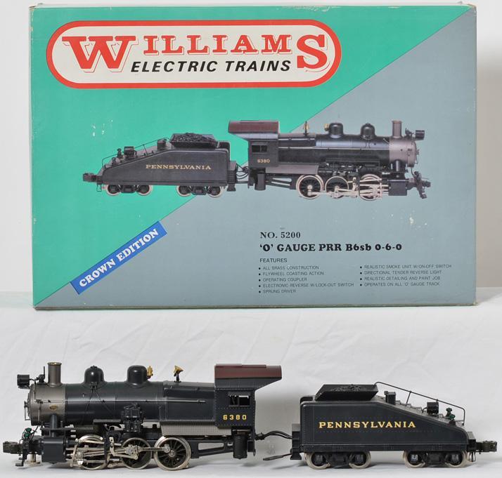 Williams Pennsylvania B6 switcher 0-6-0, 5200