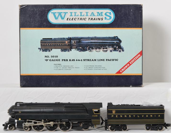 Williams Crown Edition 5010 Brass PRR Pacific MIB