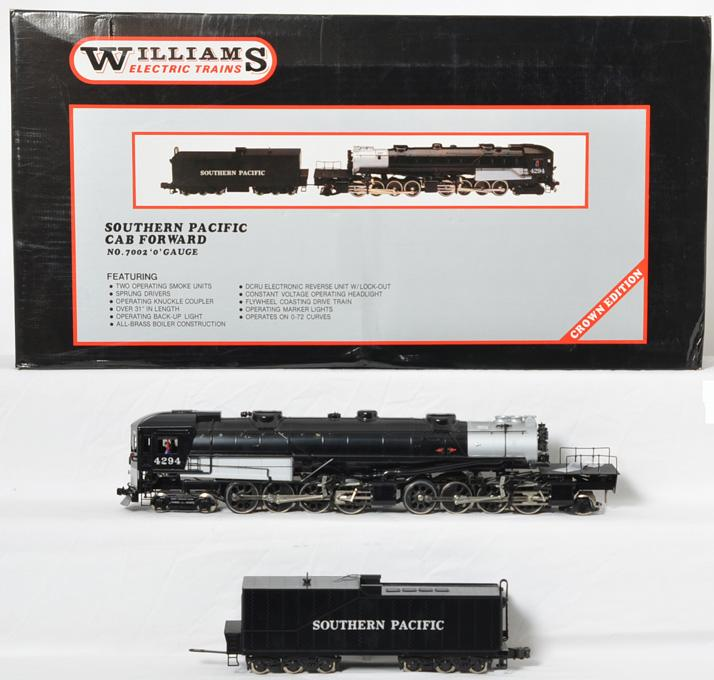 Williams Southern Pacific 7002 Cab Forward
