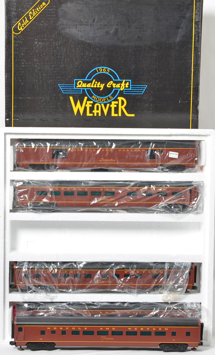 Weaver Norfolk & Western 5 Car Passenger Set