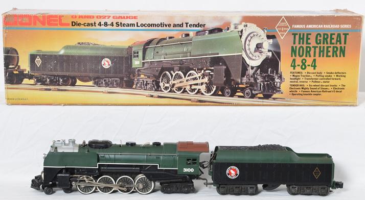 Lionel 3100 Great Northern 4-8-4 diecast