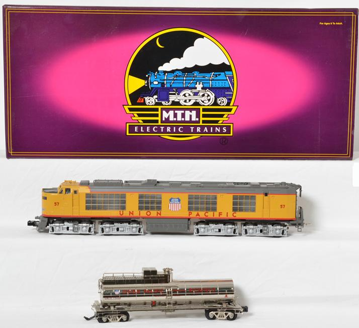MTH Union Pacific propane turbine with Proto 2