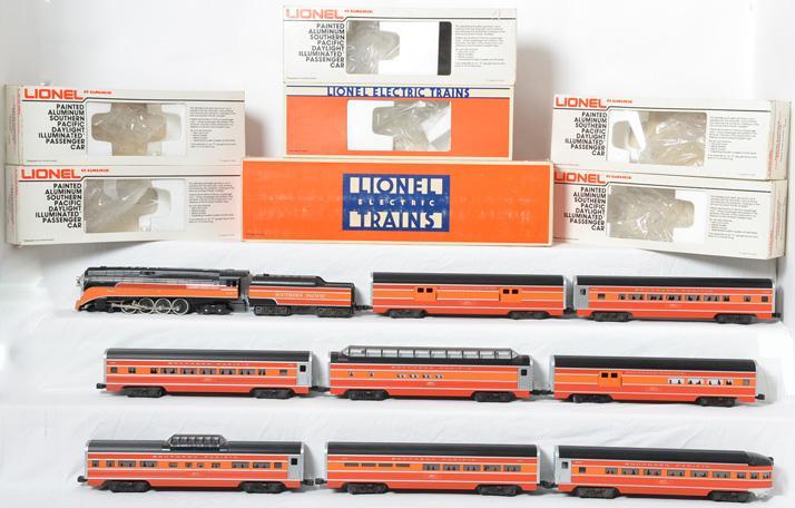 Lionel Southern Pacific Passenger Set 8307 9589-9593 19107