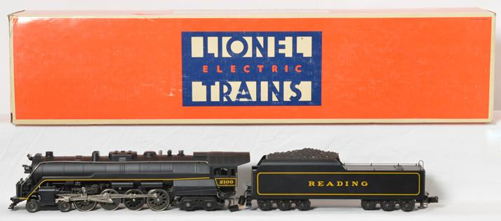 Lionel 18006 Reading T-1 Steam Loco & Tender