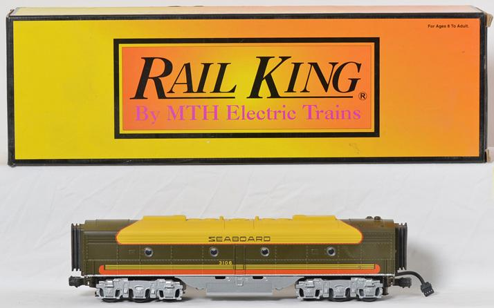 Railking 30-2181-3 Seaboard EMD E-8 B Unit Diesel with Protosound