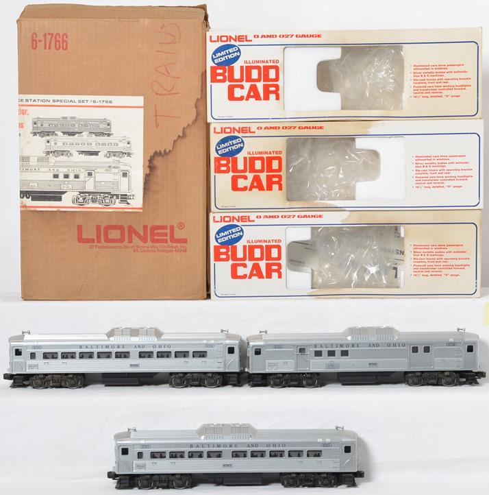 Lionel 1766 SSS B&O RDC set