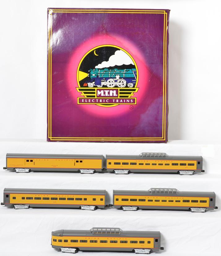 MTH Union Pacific 5 Car Passenger Set, Painted, 6506,