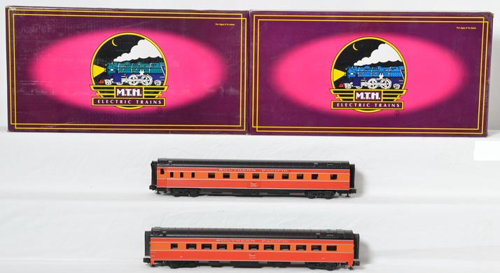 MTH Southern Pacific 2 Sleeper/Diner Sets,6623, 6629