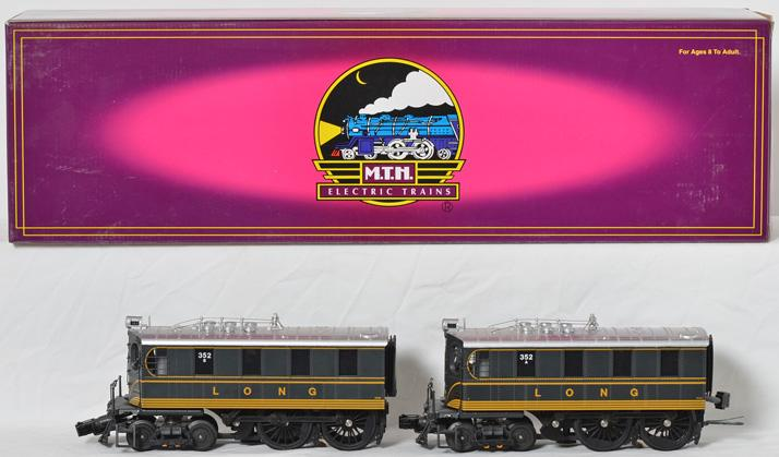 MTH Long Island Railroad DD-1 electric with Proto 2
