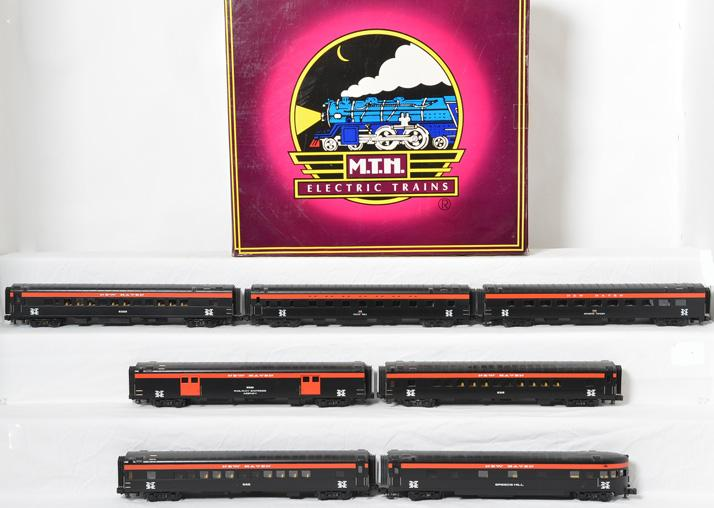 MTH New Haven 5 Car Passenger Set, 65028, and add on cars