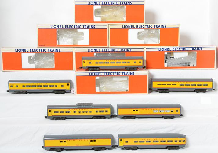 Lionel Union Pacific 7 Car Passenger Set, 9545-49, 7210, 19121