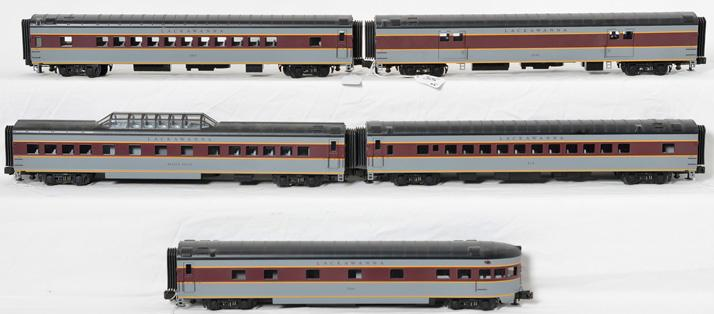 MTH 20-6565 Lackawanna Passenger Cars