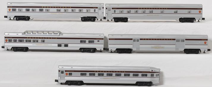 Williams Pennsylvania Broadway Limited 5 car Passenger Set