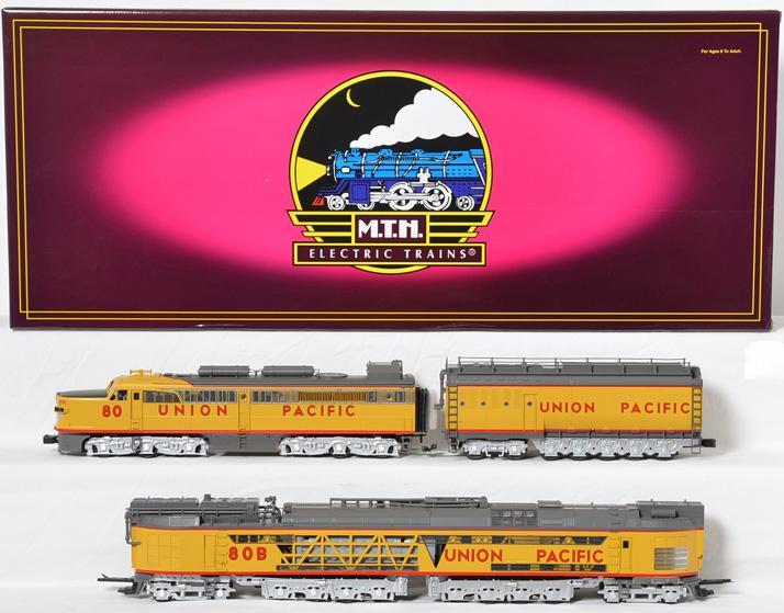 MTH 20-2214-1 Union Pacific no. 80 Coal Turbine & Tender w/Proto