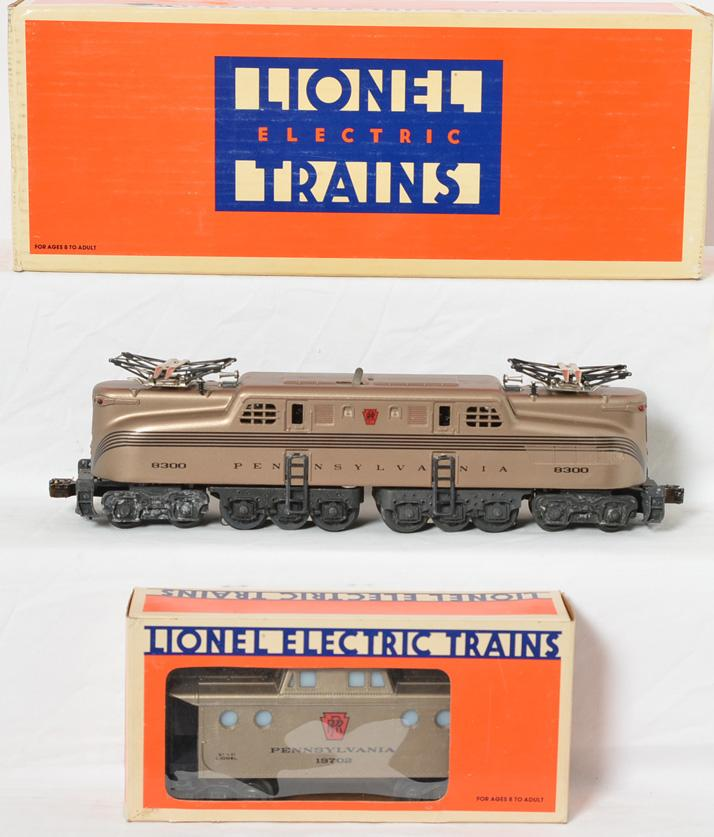 Lionel Pennsylvania Mint Series GG1 18300 and Caboose 19702