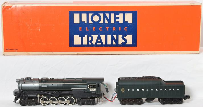 Lionel 8404 Pennsylvania turbine