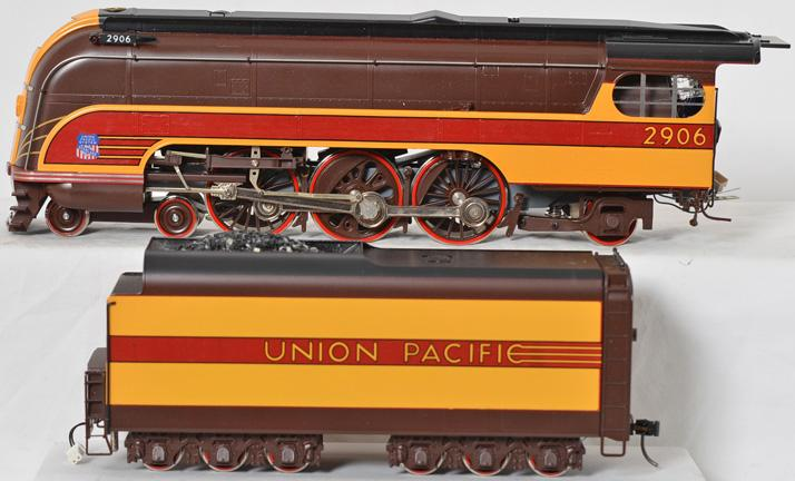 Weaver O scale brass two rail Union Pacific brass Forty Niner 4-6-2 steam locomotive