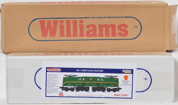 Williams GG-3001 Golden Memories semi scale GG-1 electric locomotive