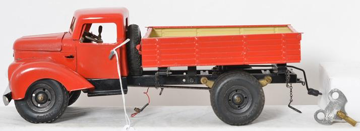 Gama 501 windup truck made in Germany