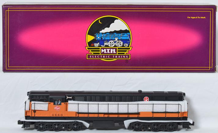 MTH Milwaukee Road Trainmaster with Protosound