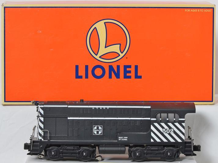 Lionel Santa Fe H12-44 with TMCC