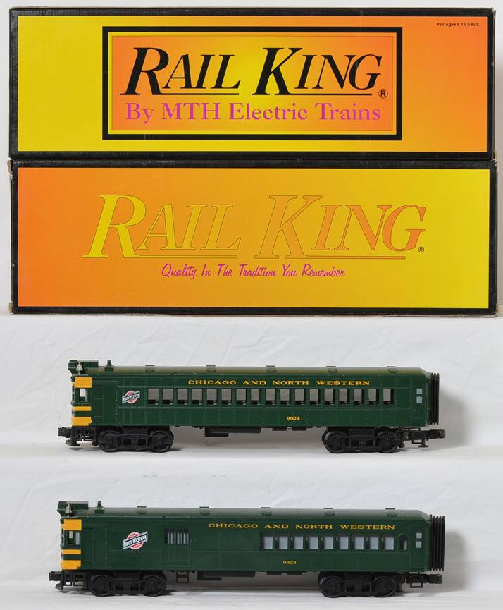 Railking Chicago and Northwestern Doodlebug power and dummy set